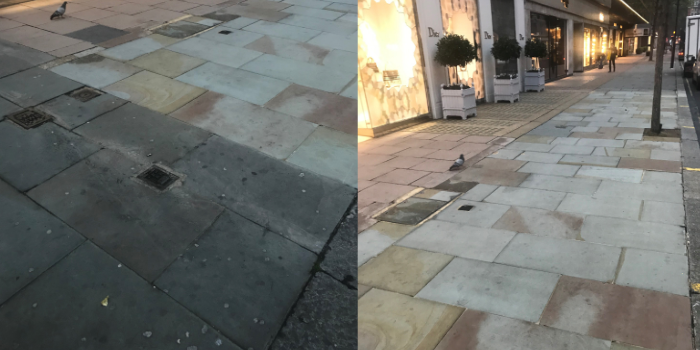 Outdoor pavement 700 X 350