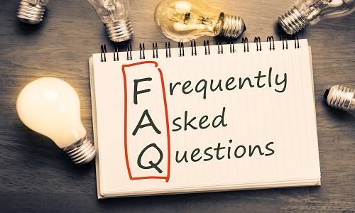FAQs 500X300